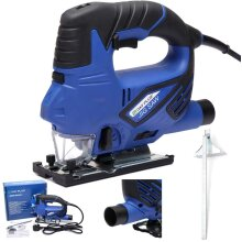 800W Electric Jigsaw with Laser Guide 3000spm 45 °to 45°Bevel 6 Speeds