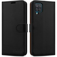 For Samsung Galaxy A12 Leather Case