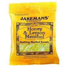 Jakemans Cough Sweets Honey & Lemon Menthol