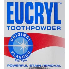 Eucryl Toothpowder Original Powerful Stain Removal 50g