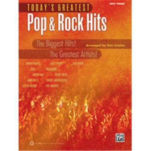 Alfred 00-40778 TODAYS GREATEST POP & ROCK EP COATE