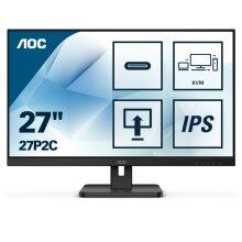 """AOC 27P2C LED display 68.6 cm (27"""") 1920 x 1080 pixels Full HD Black"""