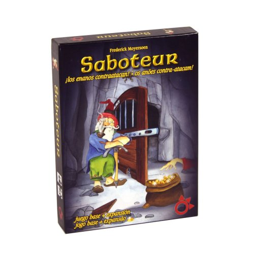 /Portuguese Game Board with Expansion Foreign Language Game AMIGO/ Table Boardgame in Spanish/ /Saboteur