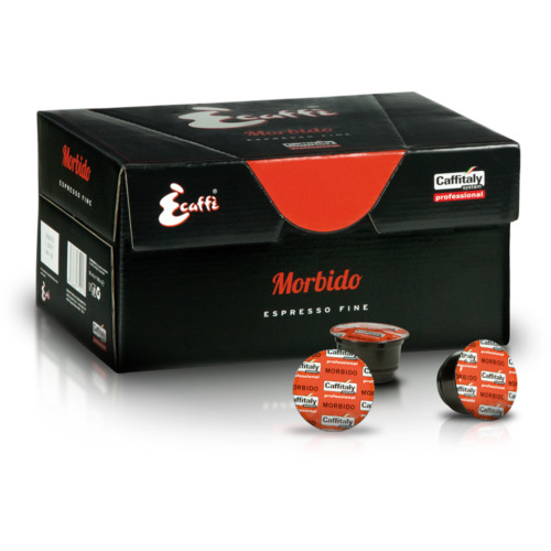 Caffitaly ECaffe Morbido Coffee Capsules - Box of 96