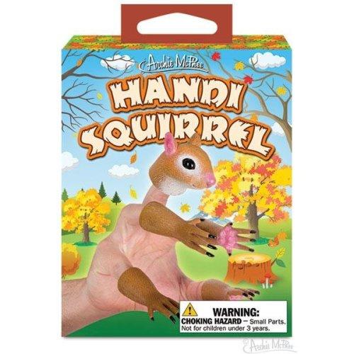 Character Goods - Archie McPhee - Finger Puppet - Handisquirrel 12698