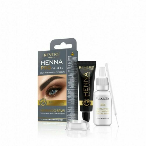Henna Eyebrows GRAPHITE GREY Revers Cosmetics FULL KIT