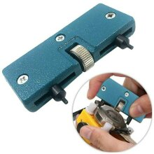 Screw Wrench Adjustable Watch Repair Tool Kit Back Case Opener Cover Remover