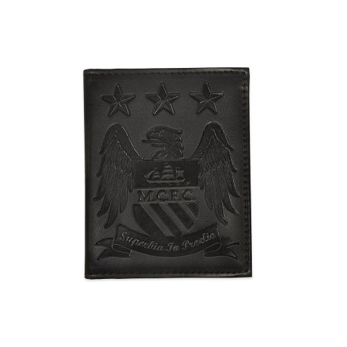 Manchester City Embossed Leather Wallet