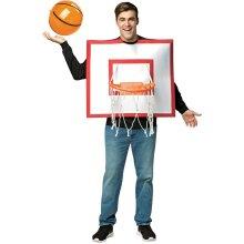 Basketball Hoop With Ball Adult Costume