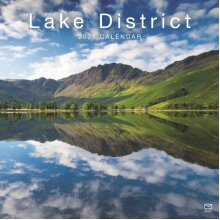 Lake District Square Wall Calendar 2021