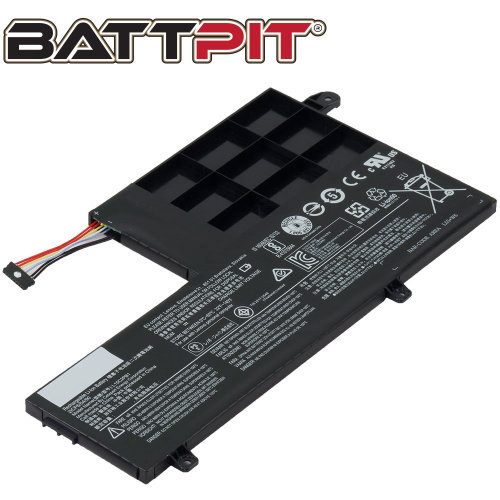 BattPit Battery for Lenovo L15C2PB1 Yoga 510-14AST 510-14IKB 510-14ISK [4510mAh/39Wh]