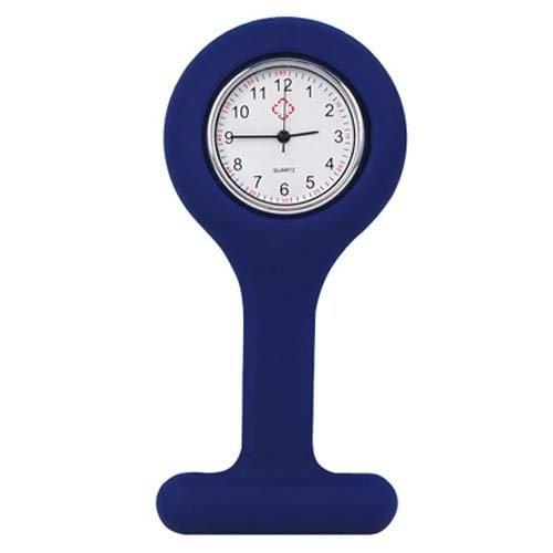 Trixes Nurses Fob Watch | Navy Blue Brooch Watch