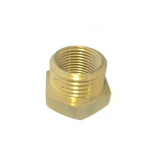 Reduction yellow hexagon 3/4 x 1/2