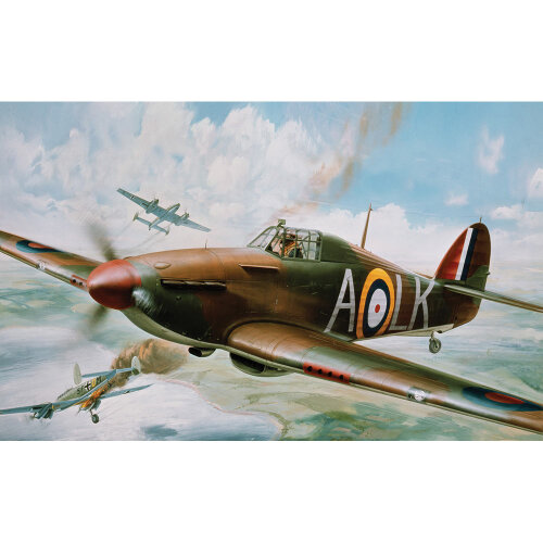 Airfix A14002V Hawker Hurricane Mk.1 1:24 Plastic Model Kit