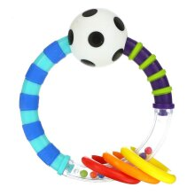 Sassy, Inspire The Senses, Ring Rattle, 0-24 Months, 1 Count