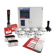Fike Twinflex Pro2 Fire Alarm Kit - 2 Zone Kit With Batteries