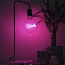 Pink Live light bulb