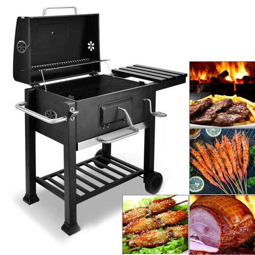 Outdoor Smoker Barbecue Charcoal Portable BBQ Grill Garden