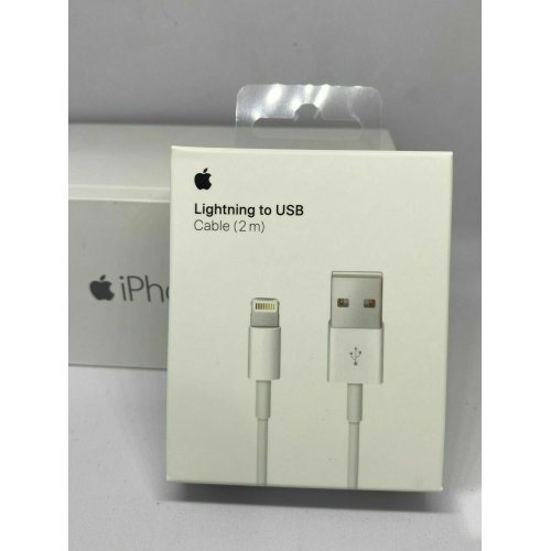 2m Genuine iPhone Charger Cable - Apple Lightning Sync USB Lead 5 5S 6S 7 8 X XR XS
