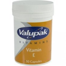 Valupak Vitamin E 30 Capsules