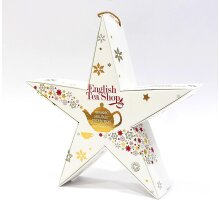 English Tea Shop - Holiday Collection REDd & GOLD Star
