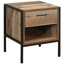 Birlea Urban 1 Drawer Bedside, Wood, Rustic
