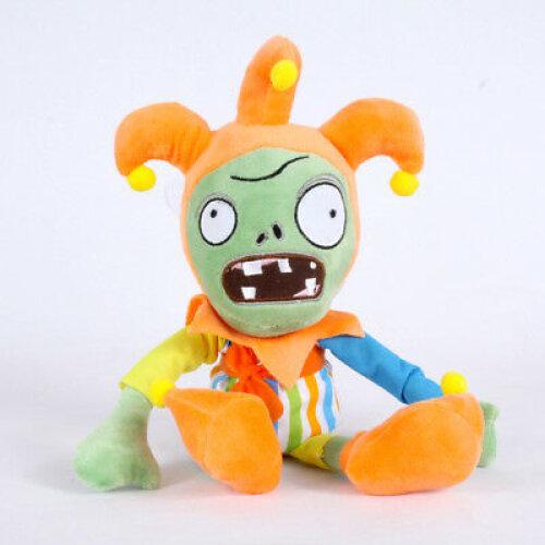 (Clown Zombie) Plants vs Zombies Figures Plush Toy Stuffed Doll