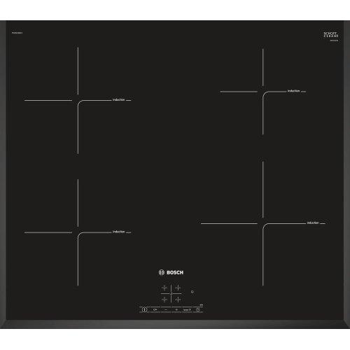 BOSCH PIE651BB1E Electric Induction Hob - Black, Black