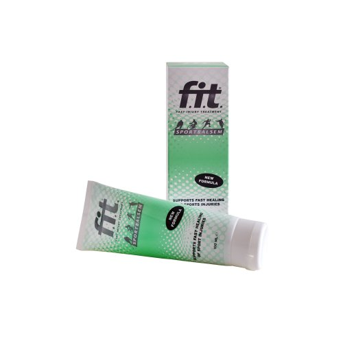 Fast Injury Treatment (FIT) Muscle Rub, for use with Kinesio Tape.