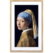 """Meural 27"""" Canvas II Digital Art Frame (Light Wood)"""