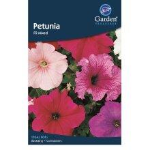 Petunia Seeds Mixed Flowers Garden Treasure 990 seeds