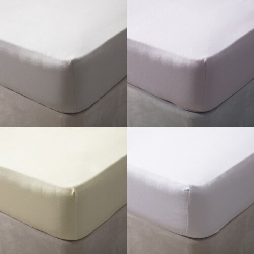 Belledorm Brushed Cotton Extra Deep Fitted Sheet