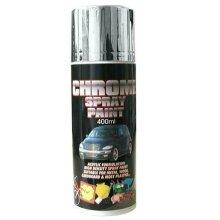 Shiny Chrome Mirror Finish Spray Paint Acrylic High Density - Alloy Wheel, Gates - chrome paint spray