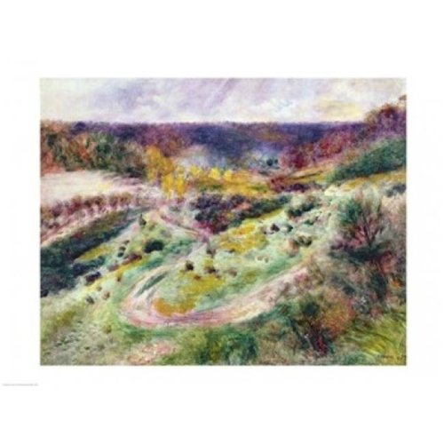 Landscape at Wargemont 1879 Poster Print by Pierre-Auguste Renoir - 36 x 24 in. - Large