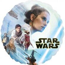 foil balloon Star Wars Skywalker 60 cm blue