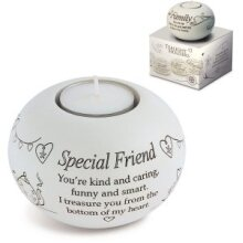 Said with Sentiment - Tealight Holder - Special Friend