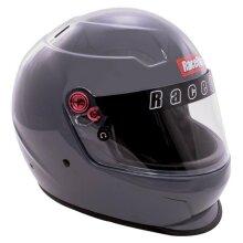 Racequip 276666 PRO20 Auto Racing Driving Helmet, Steel - Extra Large