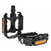 Metal Alloy Bicycle Pedals Road or MTB Bike Set