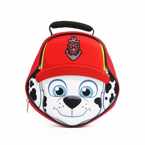 Lunch Bag - Paw Patrol - Marshall Red Die Cut New 864481