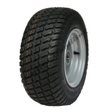 16x6.50-8 Grass tyre on wheel rim - lawnmower- cart buggy, ATV trailer