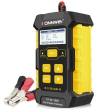 KONNWEI KW510 3 in 1 Battery Charger Automatic Smart Charger Automotive Pulse Repair Maintainer, Trickle Charger Battery Desulfator Temp Compensation