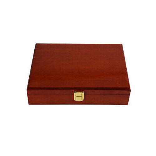 Large Retro Jewellery Display Box For Rings, Cufflinks & Earrings