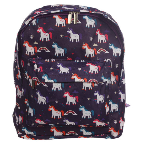 Handy Kids School  and  Everyday Rucksack - Unicorn Design