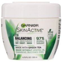 Garnier, SkinActive, Balancing 3-in-1 Face Moisturizer with Green Tea