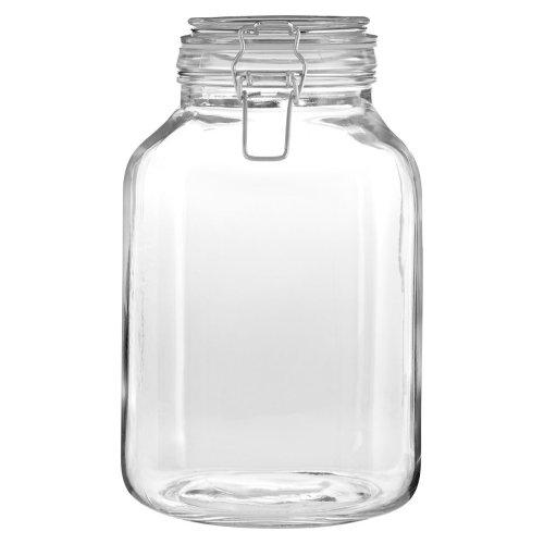 Vintage Style Clear Glass Storage Jar, 3000 ml