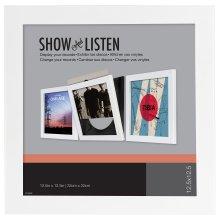 Art Vinyl LP FRAME WHITE (SLIDE OUT FRON