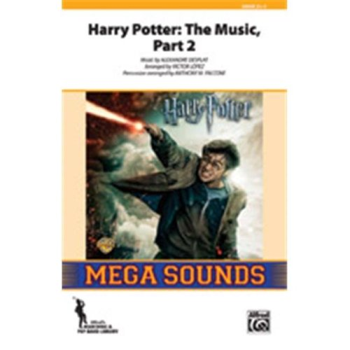 Alfred 00-38551 HARRY POTTER:THE MUSIC 2-MSS