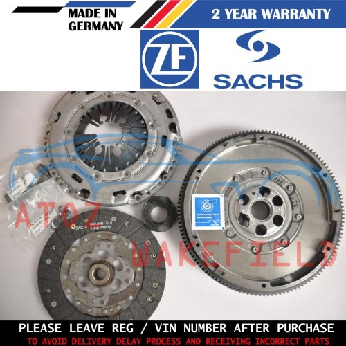 FOR SEAT LEON 1.6 TDI 1P1 GENUINE SACHS ZMS DUAL MASS FLYWHEEL CLUTCH KIT 10-12