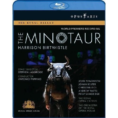 Harrison Birtwistle: The Minotaur [Blu-ray] [2010] [DVD]