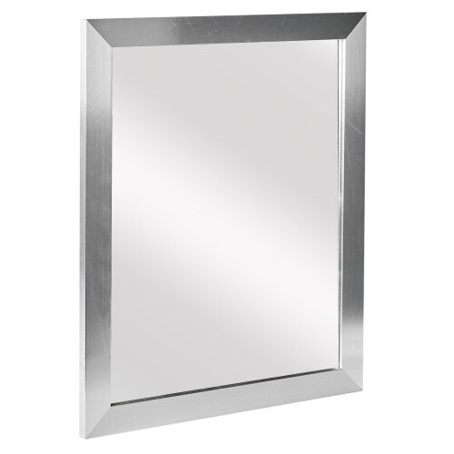 (Silver ) Wall Mountable Mirror Rectangle Bedroom Accessory